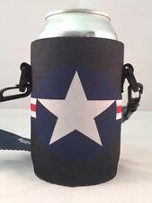 Koozie Holder Necklace Beer Can Bottle Cooler New Drink Strap Air Force One