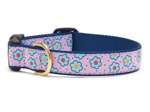 Up Country - Dog Puppy Collar - Made In USA - Flower Field - XS S M L XL XXL