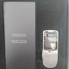 NOKIA 8801 SILVER GENUINE 100% with ORIGINAL BOX and all accessories