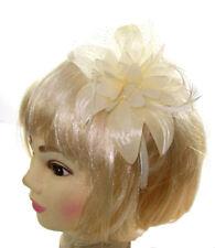 Bibis et bijoux de cheveux blancs pour femme