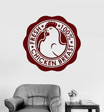 Wall Stickers Vinyl Decal Grocery Store Chicken Breast Meat Business (ig309)