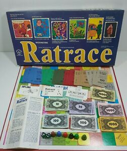 Vintage Ratrace board game 1973 Waddingtons Complete Good Condition