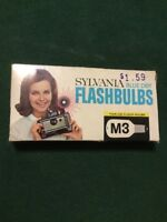 Sylvania M3 Blue Dot Camera Flashbulbs, (Pack of 12) Complete