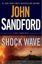 Shock Wave (A Virgil Flowers Novel) by Sandford, John, Good Book