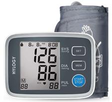 Tensiómetro de Brazo Automático Digital,Frecuencia Cardíaca, Validado Clínica