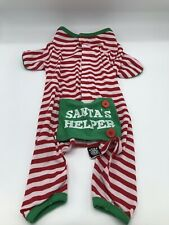 Petrageous Designs Dog Clothes Candy Cane Santa's Helper Size Medium M