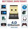 USB Bluetooth V 4.0 CSR Wireless Mini Dongle Adapter For Win7 8 10 PC Laptop NEW