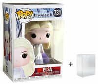 Funko Pop! Disney Frozen II 2 - Elsa (Epilogue Dress) #731 - w/ Case - In Stock