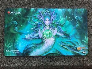 Magic the Gathering Grand Prix Pittsburgh Playmat - Tatyova Benthic Druid New!