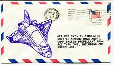 1978 AFT RCS DVT-10 Suìimulated Orbiter Once Abort White Sands Missile Range USA