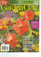 GARDEN GATE, DOUBLE ISSUE,   JANUARY / FEBRUARY, 2015  ( THE BEST NEW PLANTS FOR