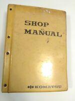Komatsu Shop Manual OEM D60A, P-6 Model 31001-Up & D65A, P-6 Model 32001-Up