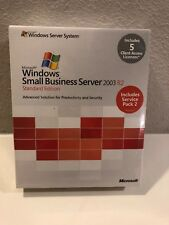 Microsoft Windows Small Business Server 2003 R2 Standard, T72-01411, 5CAL,Retail