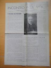 1945-INCONTRO ALLA VITA…-Mons.EDUARDO BRETTONI Vescovo di REGGIO EMILIA