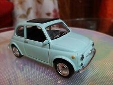 Rarissimo Modellino fiat 500 F Targato Torino Scala 1/24 da collezione Usato