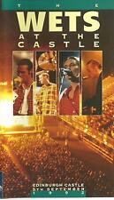 THE WETS AT THE CASTLE - VHS MUSIC VIDEO 1992 - WET WET WET AT EDINBURGH CASTLE