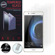 3X Safety Glass for Huawei Honor V8 Genuine Screen Protector