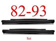82 93 Chevy S10 Slip-On Rocker Panel SET, GMC, Rust Repair, 1.2MM Thick