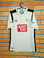 Derby County Jersey 2016 2017 Home SMALL Shirt Football Soccer Umbro