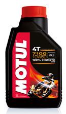 MOTUL 7100 4T 10W 60 OLIO MOTORE  MOTO 4 TEMPI 710 2T 10W-60 SINTETICO JASO PER
