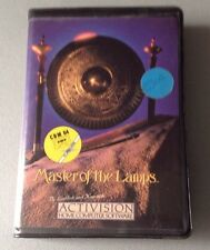 Master Of The Lamps Cassette Tape Game For The Commodore 64 Vintage #Nib