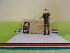 ORG/VIN GI JOE ACT/FIG B-11 -  2001  ROCK 'N ROLL V6 - W/CARD COMPLETE NR/MINT