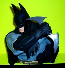 BATMAN ARKHAM ASYLUM PX Vinyl BUST Coin Money Bank w BATARANG DC Comic Books NEW