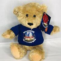 Millennium Collectors Bear Keel Toys Plush 12 in London England 2000 Tan Teddy