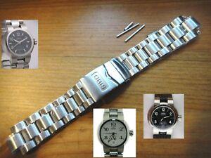ORIS Ø37 mm TT1 day date S STEEL 82101 band bracelet strap Case# 635 7522 41
