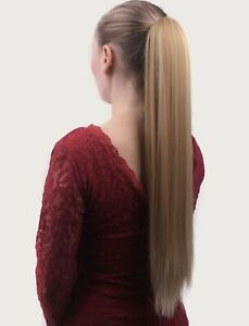 Wrap on Ponytail Clip  Hair Extensions Long