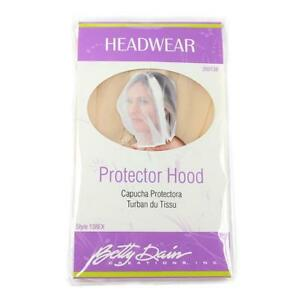 Betty Dain Make Up and Hair Protector Hood  #138EX  PICK A COLOR - FREE SHIPPING