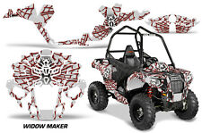 "Polaris Sportsman ""ACE"" ATV Graphic Kit Wrap Quad Accessories Decals WIDOW RED"