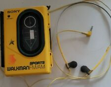 Vintage Sony Walkman Am-Fm Stereo Cassette Player only Radio Works read descript