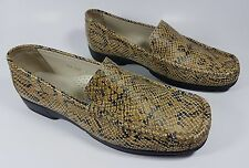 Hush Puppies snake skin effect leather flat shoes uk 7 worn once