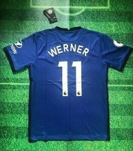 Werner Chelsea 2020/21 Home Jersey (1 Day Shipping)