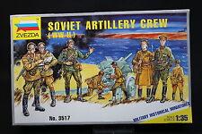 XV106 ZVEZDA 1/35 maquette figurine 3517 Soviet Artillery Crew WWII
