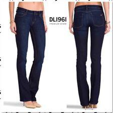 35ebcbbf85d NWOT DL1961 Women Jeans Sz 28 x 34 Cindy Slim Bootcut Dark Wash Stretch $168