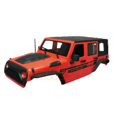 Xtra Speed Jeep Hard Plastic Body 313mm Ver.2 Axial SCX10 RC4WD Red #XS-59765AR