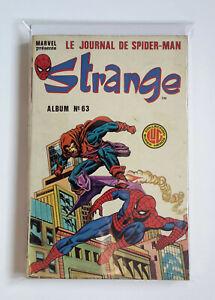 Vintage 1985 Marvel's STRANGE Comics Album #63 | LUG French Edition 188-199-190