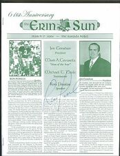 Ron Powlus signed Notre Dame 2006 The Erin Sun program