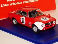ALFA ROMEO GIULIA 1600 GTA #36 J. RINDTH SEBRING 1966  M4 1:43
