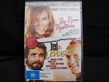 DVD Movie - THE ROOM UPSTAIRS & TED AND VENUS - Brand New - Region 4