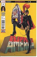Marvel Comics AMERICA #8 first printing includes Jubilee Marvel value stamp
