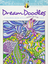 Creative Haven Dream Doodles: A Coloring Book with a Hidden Picture Twist (Adult