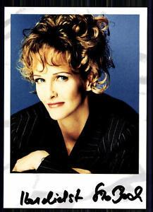 Kristina Bach Autogrammkarte Original Signiert ## BC 10390