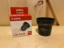 Canon LAH-DC20 Digital Camera Lens Adapter / Hood Set *NEW*OPEN BOX*