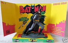 BATMAN Action Figure  on Custom Batman & Robin Issue No. 1 Comic Display Diorama