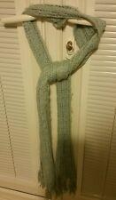 O'neill long blue scarf