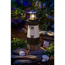 Lawn And Garden Décor Lighthouse Solar Lights For Yard Patio Flowerbed Living