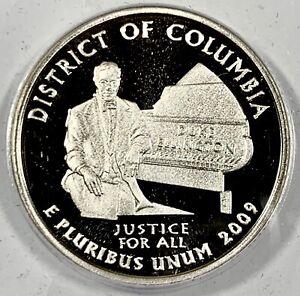 2009-S United States District of Columbia Quarter - ANACS PR70 DCAM